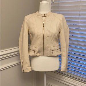Leather Jacket from White House Black Market